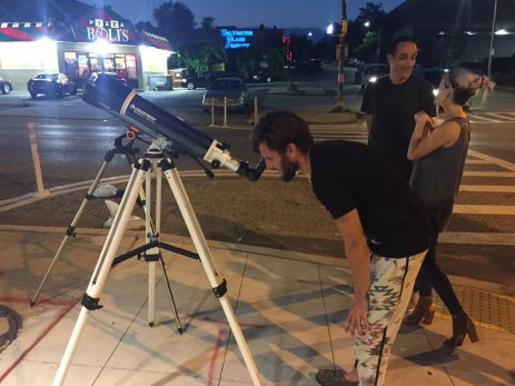 Additionally, we took popscope out on the street to talk about heart health with passersby.