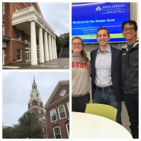 Co-director Panagis Galiatsatos visited Berea College to give a talk about MGG and a new internship collaboration started by 2018 summer intern Amber Follin, pictured left.