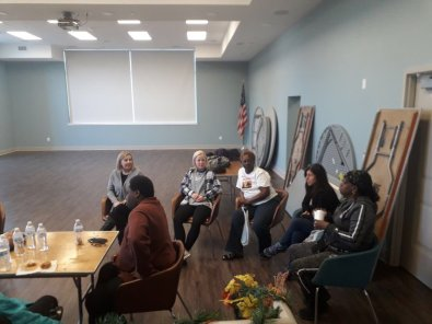 Residents at McCulloh homes requested a smoking cessation session.