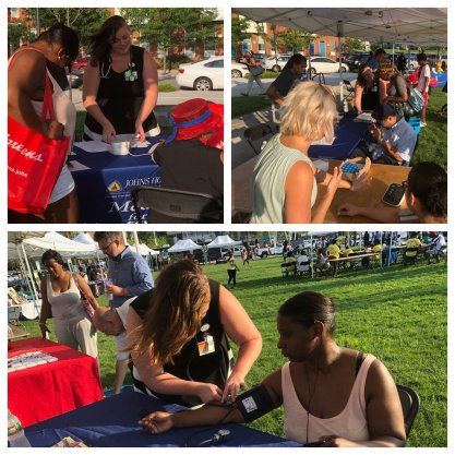 STAR Baltimore invited us to hold a booth where we educated the community about lung and heart health.