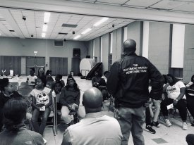 A request made by local parents urged us to partner with community organizations to have a session about gun violence and death. During this session, it was revealed that each child had lost a loved one during a shooting. Total number of children affected = 32